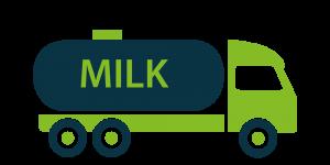 Stoßdämpfer für Milchsammeltransporter