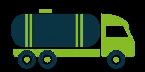 Stoßdämpfer für Tankfahrzeuge