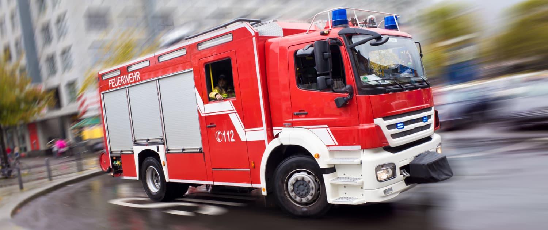 Verstärkte Stoßdämpfer von Marquart für Feuerwehren