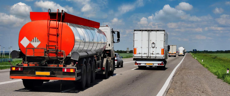 Verstärkte Stoßdämpfer von Marquart für Tankwagen