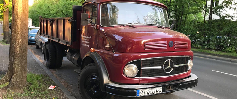 Verstärkte Stoßdämpfer von Marquart für Mercedes Rundhauber