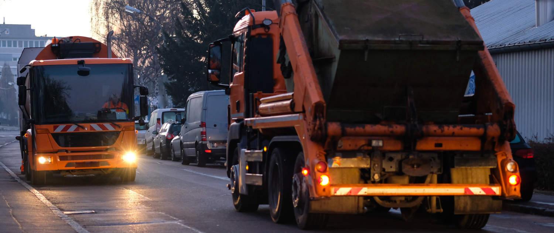 Verstärkte Stoßdämpfer von Marquart für Müllabfuhrfahrzeuge