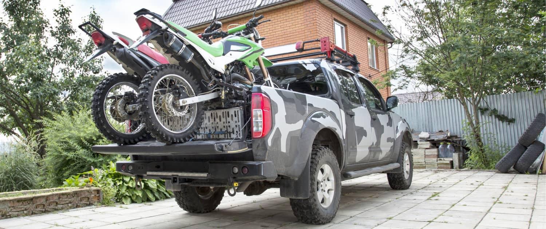 Verstärkte Stoßdämpfer für Pick-Ups auch mit Beladung