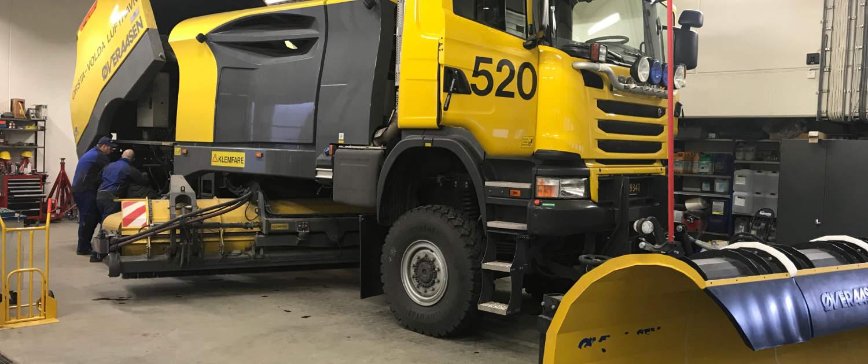 Verstärkte Stoßdämpfer von Marquart für Sonderfahrzeuge