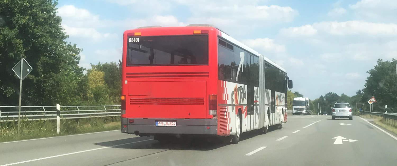 Verstärkte Stoßdämpfer von Marquart für Gelenkbusse