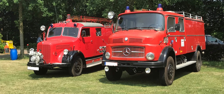 Verstärkte Stoßdämpfer für historische Feuerwehren