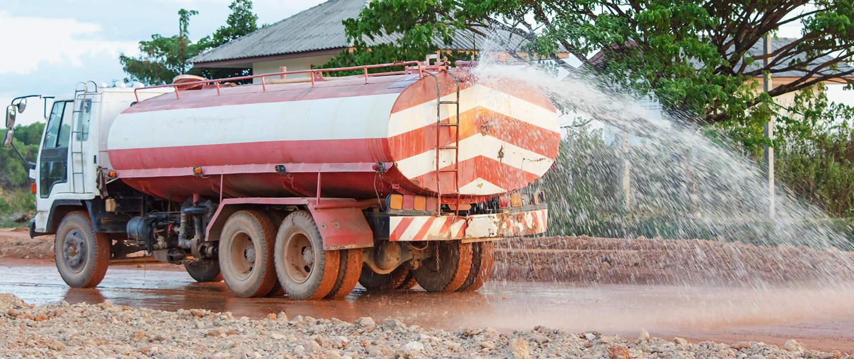 Verstärkte Stoßdämpfer für Tankwagen