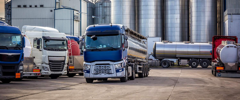 Verstärkte Stoßdämpfer für Tankfahrzeuge
