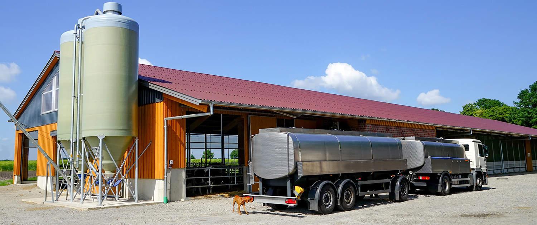 Verstärkte Stoßdämpfer für Milchsammelfahrzeuge