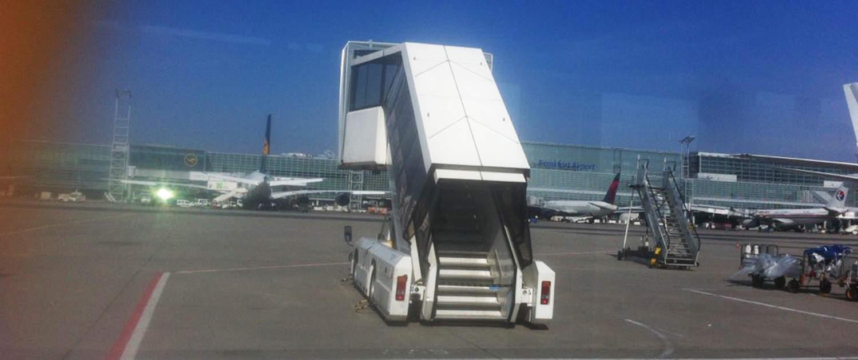 Verstärkte Stoßdämpfer für Fluggastbrücken