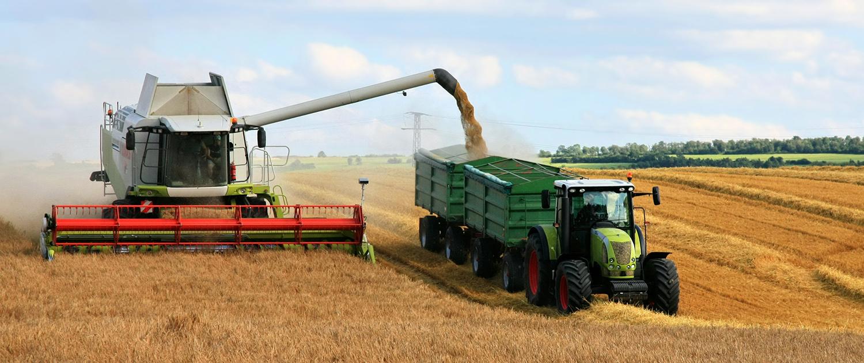 Verstärkte Stoßdämpfer für Mähdrescher und Traktoren